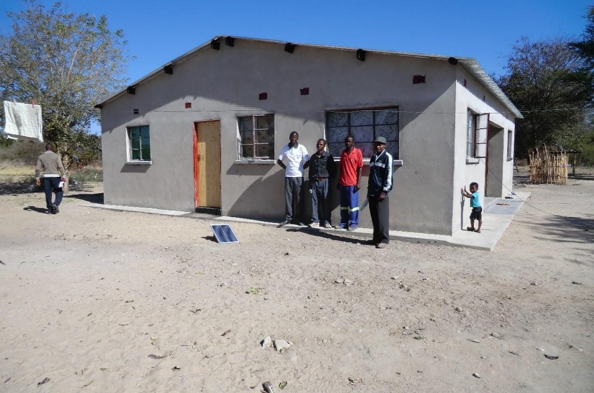 Lerarenhuisje in satellite Nakaluba